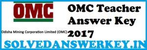 OMC Teacher Answer Key 2017 PDF