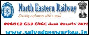 RRCNER GKP GDCE June Results 2017