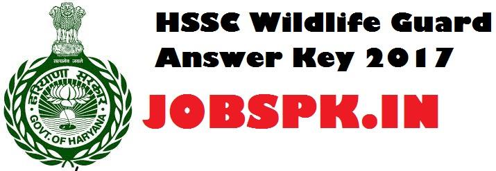 HSSC Wildlife Guard Answer Key 2017 PDFHSSC Wildlife Guard Answer Key 2017 PDF