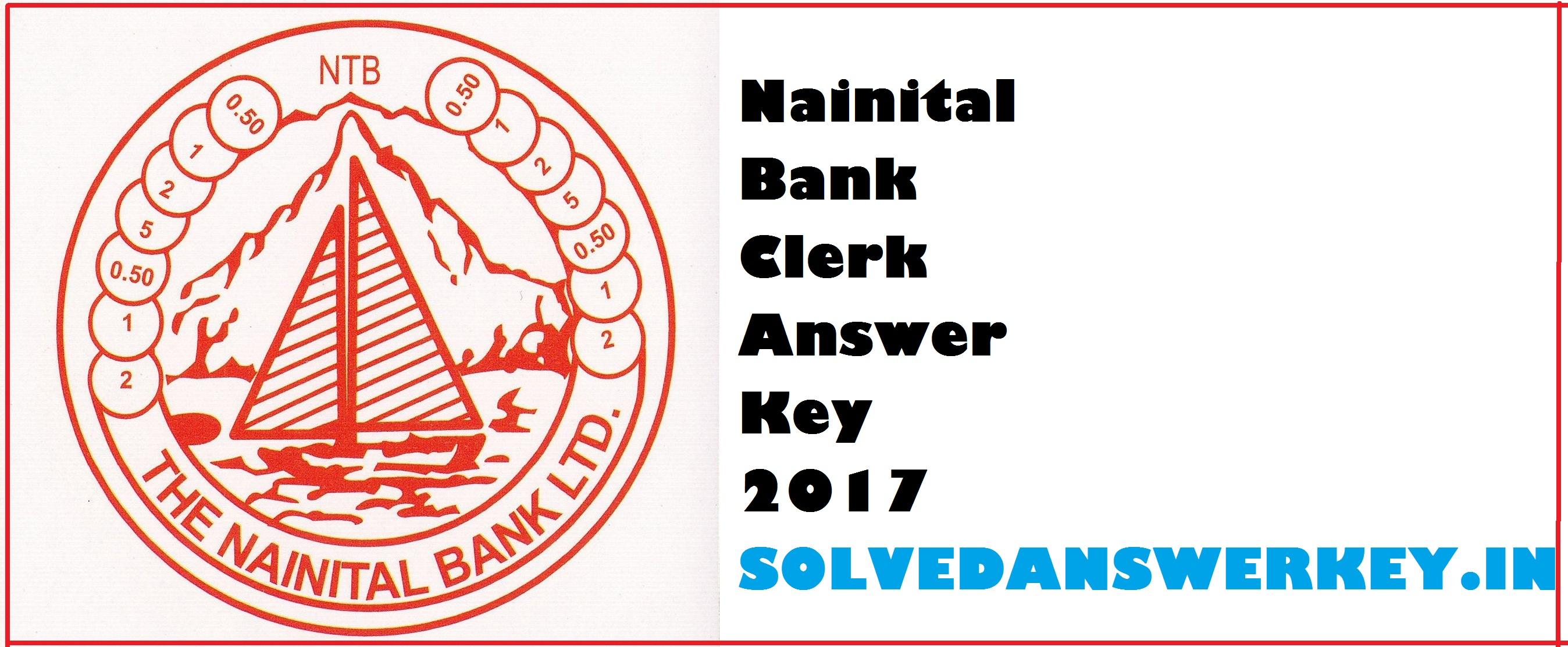 Nainital Bank Clerk Answer Key 2017 PDF