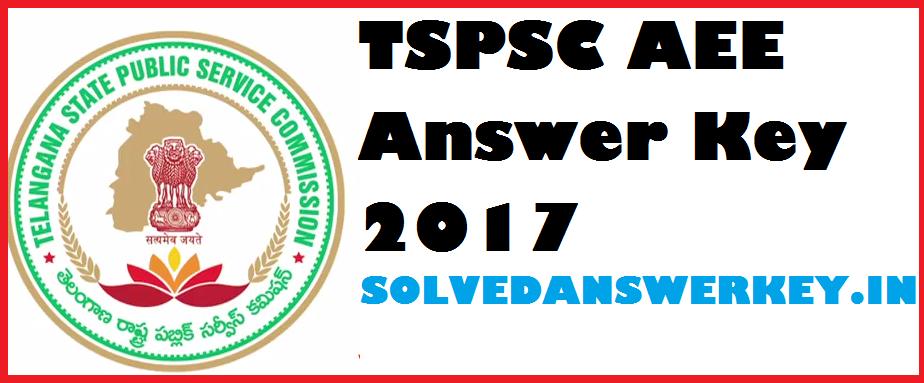 TSPSC AEE Answer Key 2017