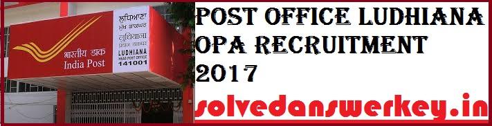 Post Office Ludhiana OPA
