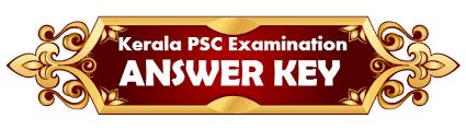 KPSC VFA Answer Key PDF