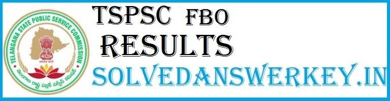 TSPSC Forest Beat Officer Results Link