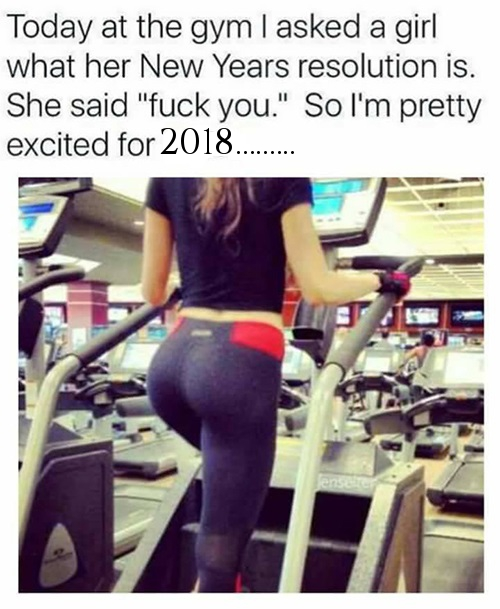 2018 Happy New Year Funny Memes