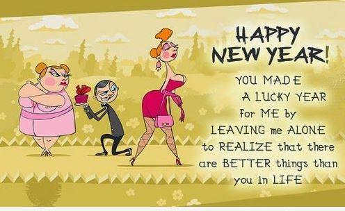 2018 Happy New Year Funny Pics for FB Whatsapp