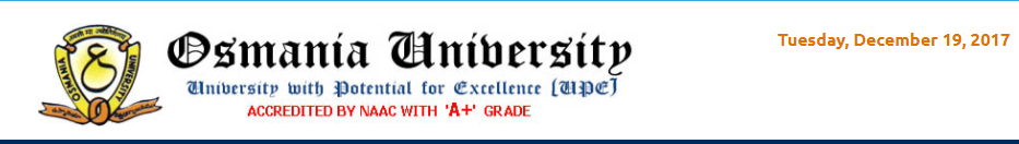 OU Degree Supplementary Result Official Page