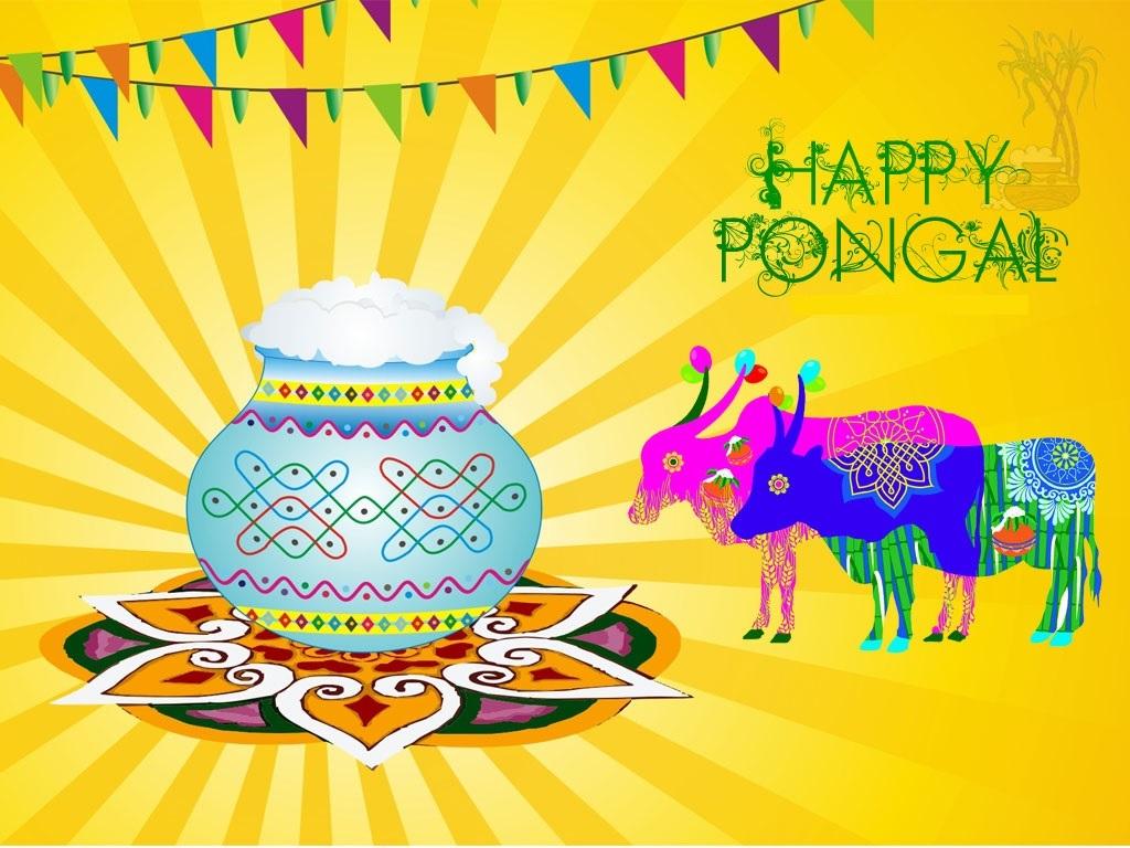 Happy Pongal 2018 Full HD Pics