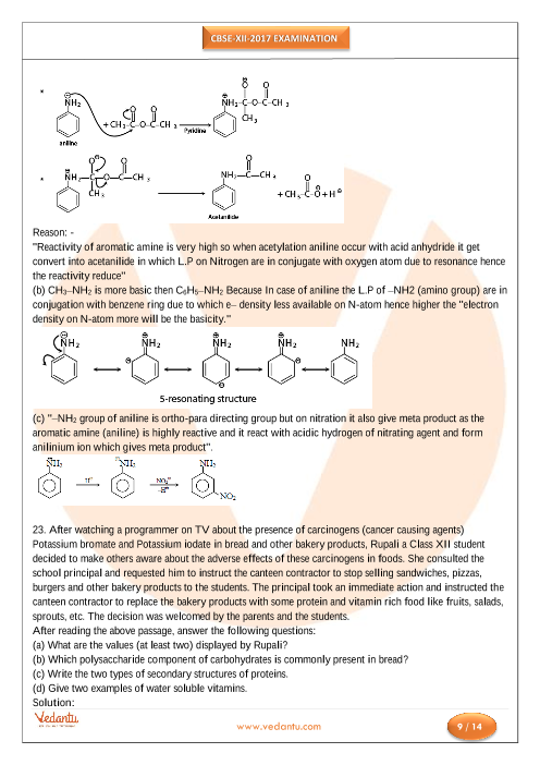 CBSE Class 12 Chemistry Old Question Papers