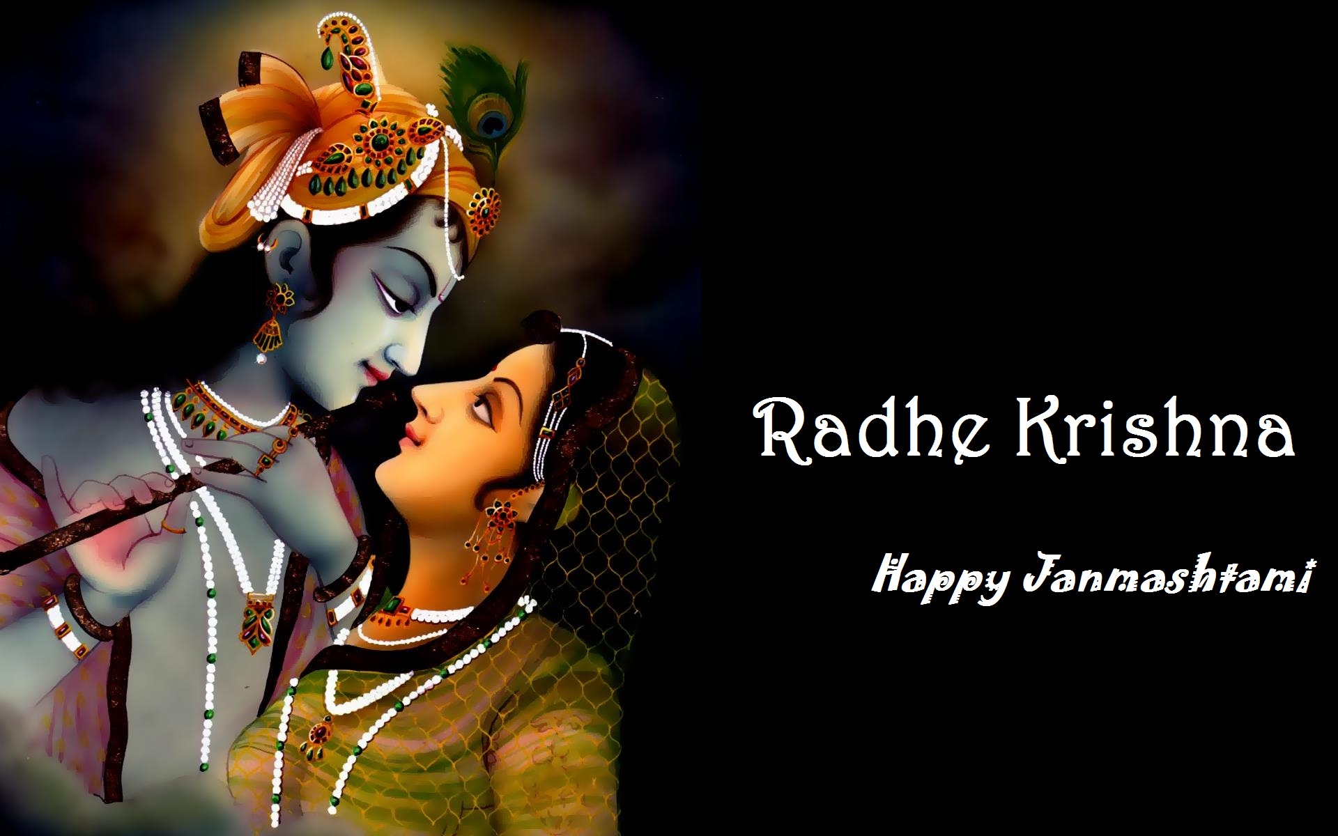 Festival Lord Krishna Janmashtami Greeting Quote