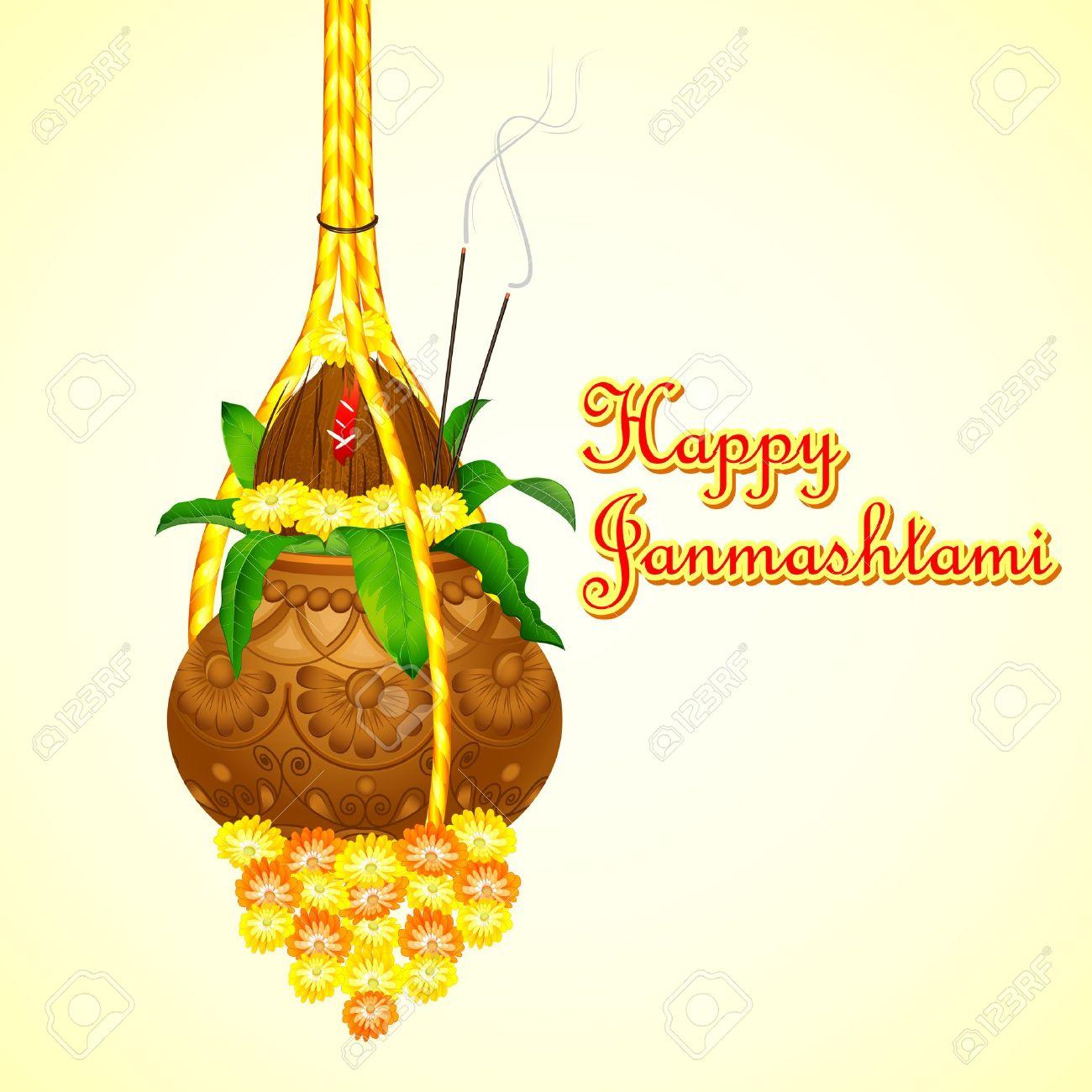 God Radhe Krishna Wish You Happy Janmashtami