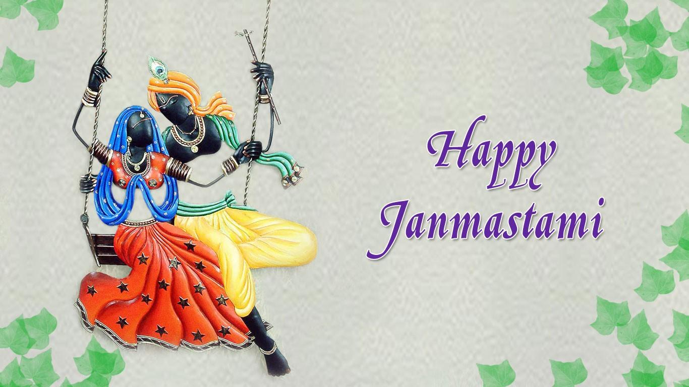 Happy Janmashtami Krishna Wallpaper Download