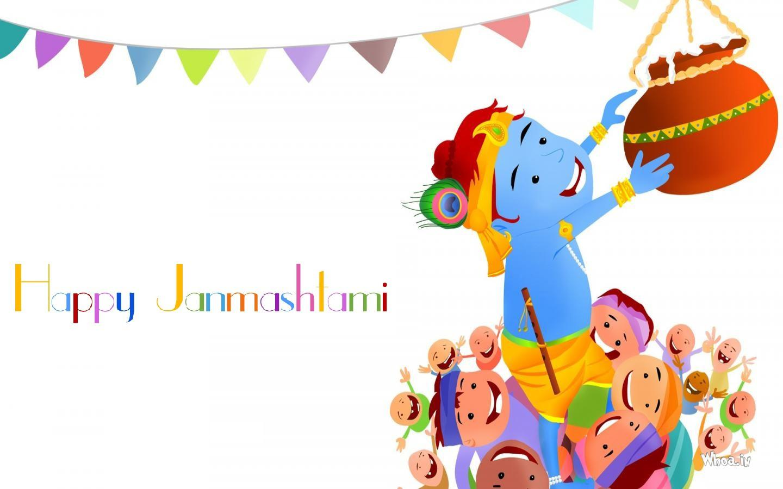 Happy Krishna Janmashtami HD Wallpapers