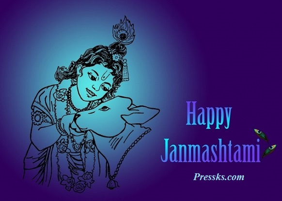 Happy Srikrishna Jayanti Pic Download