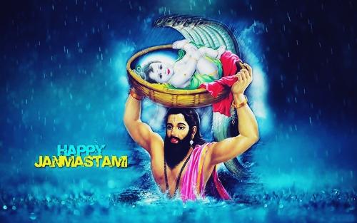 Krishna Janmashtami Festival HD Wallpaper