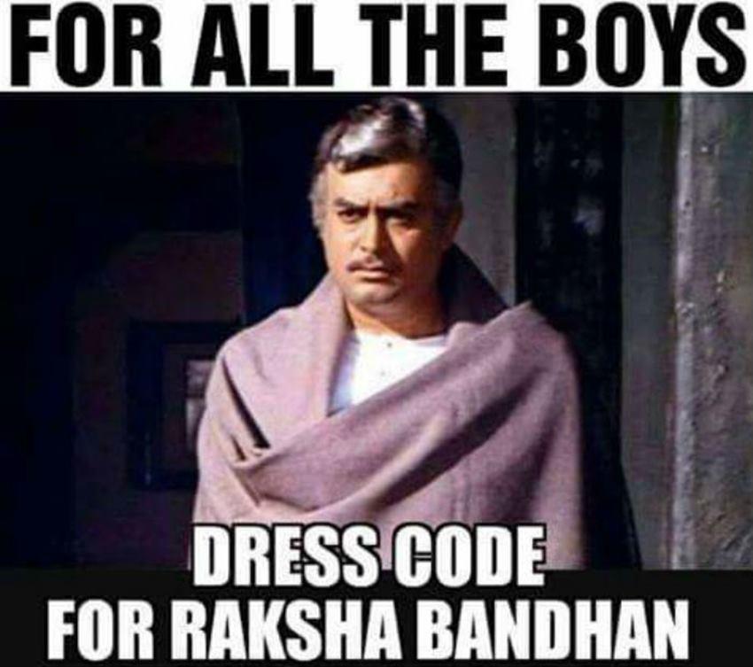 Raksha bandhan Funny Shayari Memes