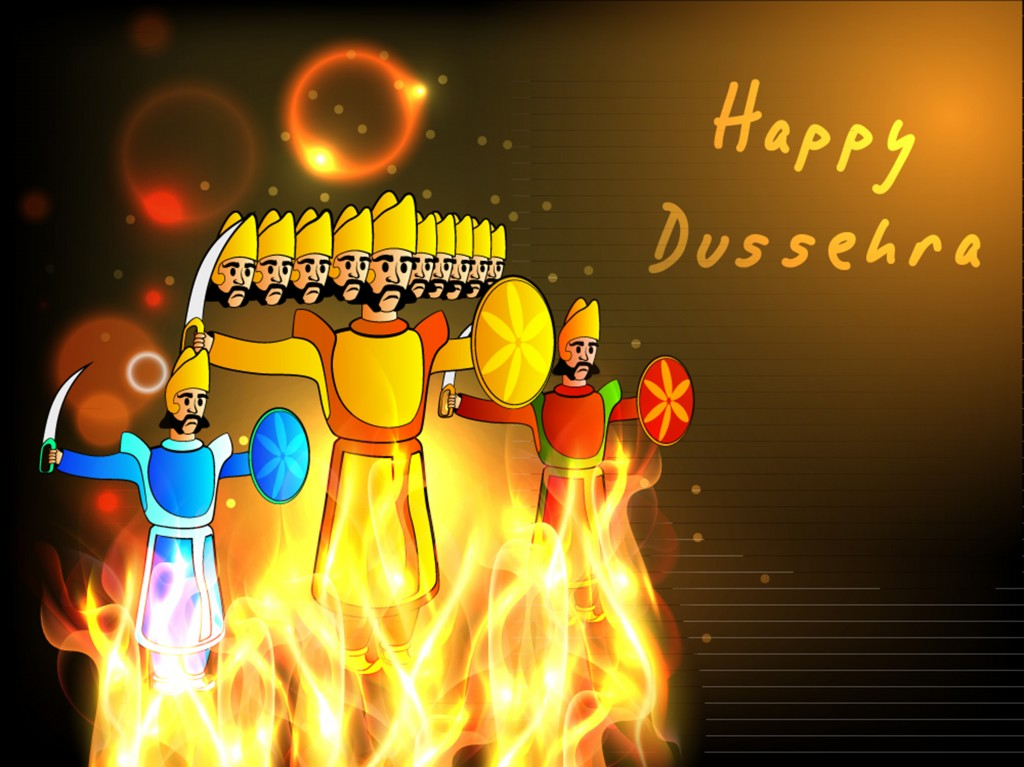 Happy Dasara HD Banners