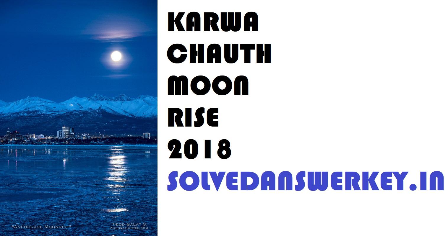 Karwa Chauth Moon Rise