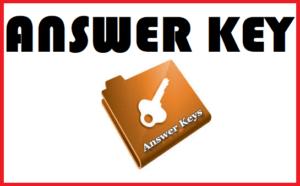 Answer Key PDF