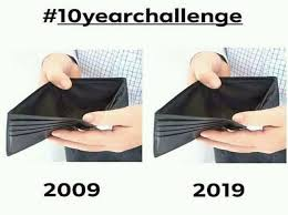 10 Year Challenge Funny Photos For FB