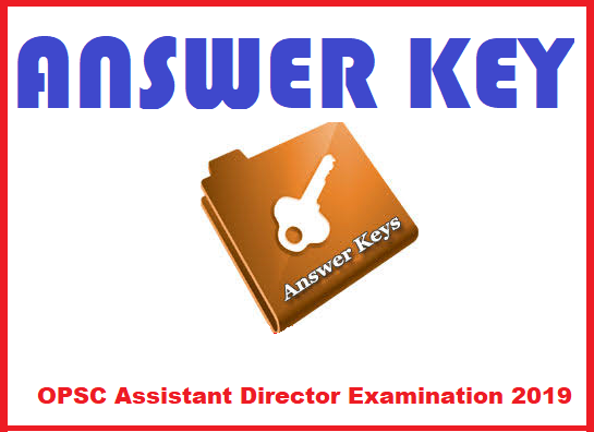 OPSC Assistant Director Examination 2019