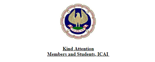 ICAI CA CPT Examination 2019