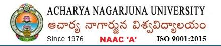 Acharya Nagarjuna University Entrance Test 2019