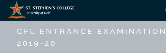 CFL Entrance Exam 2019
