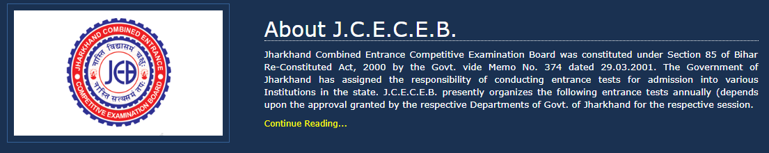 JCECEB NECE B.SC Nursing Entrance Examination 2019