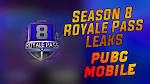 PUBG Mobile Season 8 Royal Pass