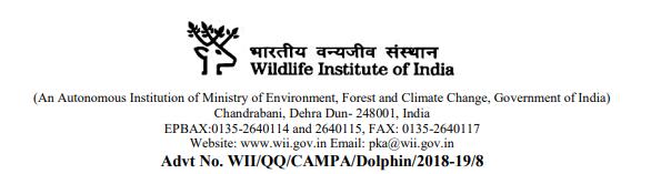 Wildlife Institute of India Examination 2019