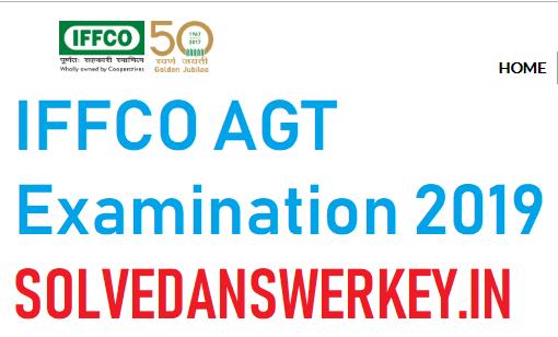 IFFCO AGT Examination 2019