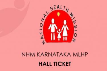 NHM Karnataka MLHP Exam 2020