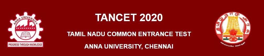 TANCET Examination 2020