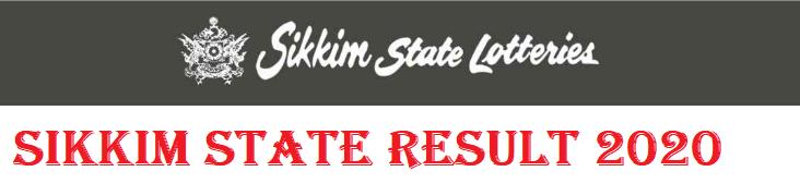 Sikkim State Dear Result 2020