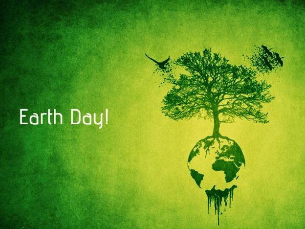 happy earth day go green wallpaper HD Quality