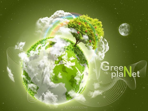 happy earth day cool green nature hd wallpaper