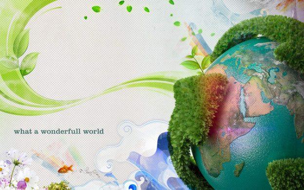 happy earth day 3d hd latest wallpaper