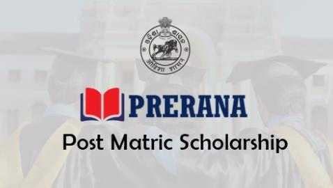 Odisha Prerana Post Matric Scholarship Application Registration Form