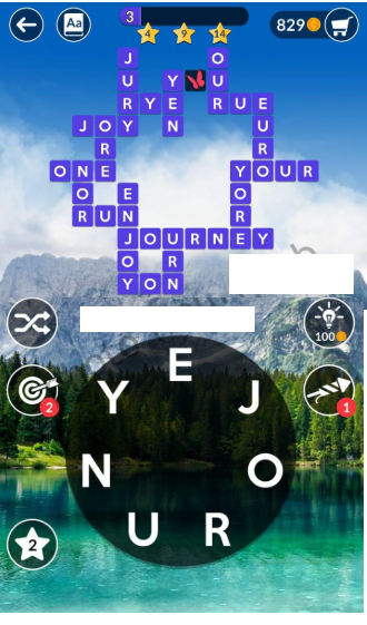 Wordscapes Daily Puzzle Solved Answers