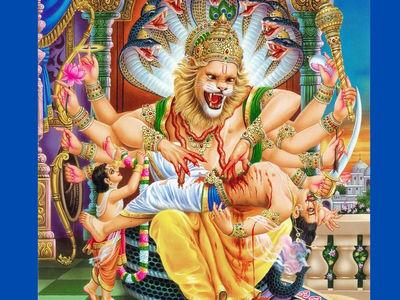 Narsimha Jayanti Images 2020