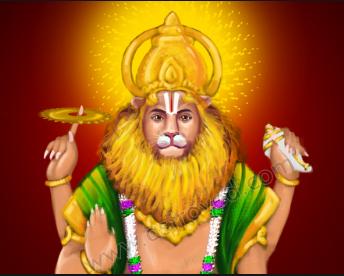 Narsimha Jayanti Text Images 2020